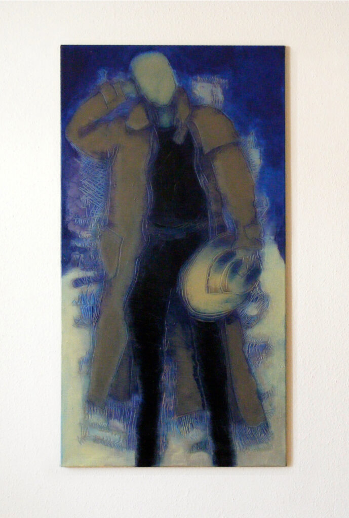 Yasmin Maier, Oil Painting, She is long gone I, 2001